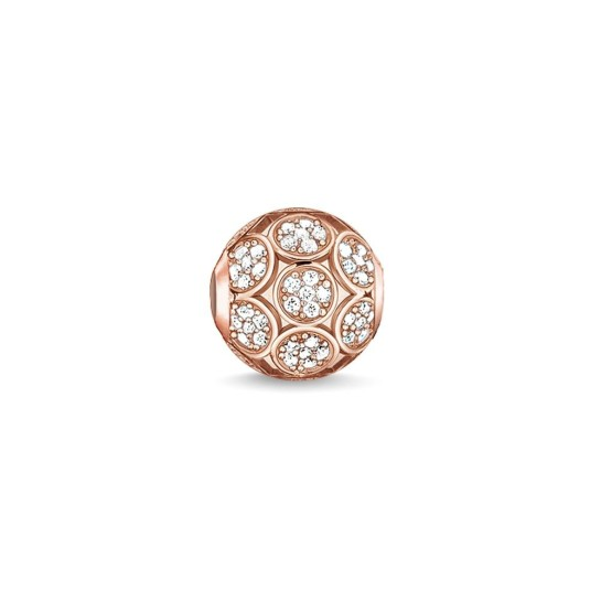 thomas sabo sparkling circles bead