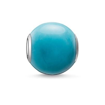 thomas sabo turquoise howlite bead