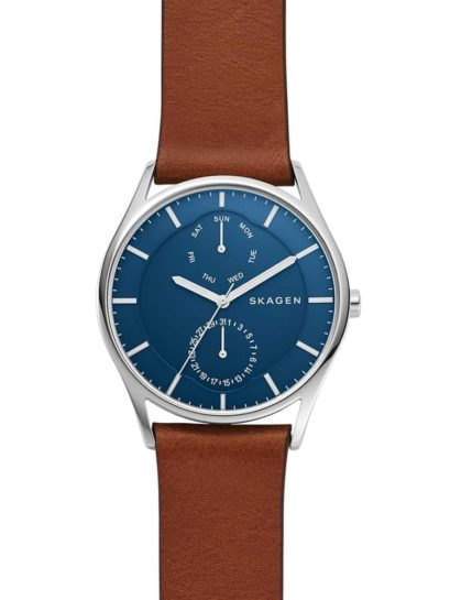 Skagen Holst Brown Strap Watch