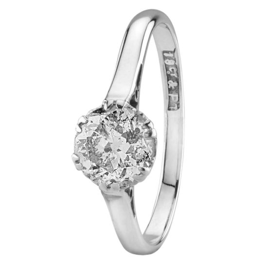Second Hand 0.85ct Diamond Solitaire Ring