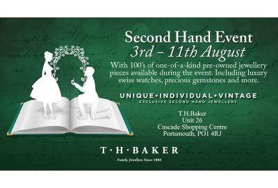 T H Baker Portsmouth Second Hand Jewellery And Watches Event