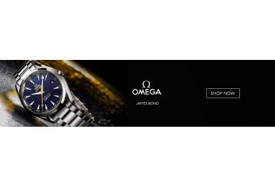 Omega Limited Edition James Bond Seamaster Aqua Terra
