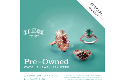 Head to Alton this September for our popular Pre-Owned Jewellery Event