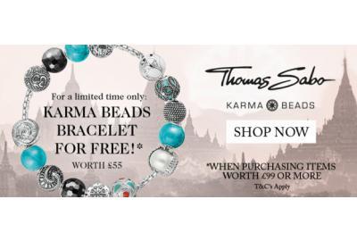 Free Thomas Sabo Karma Bracelet with £99+ Spend