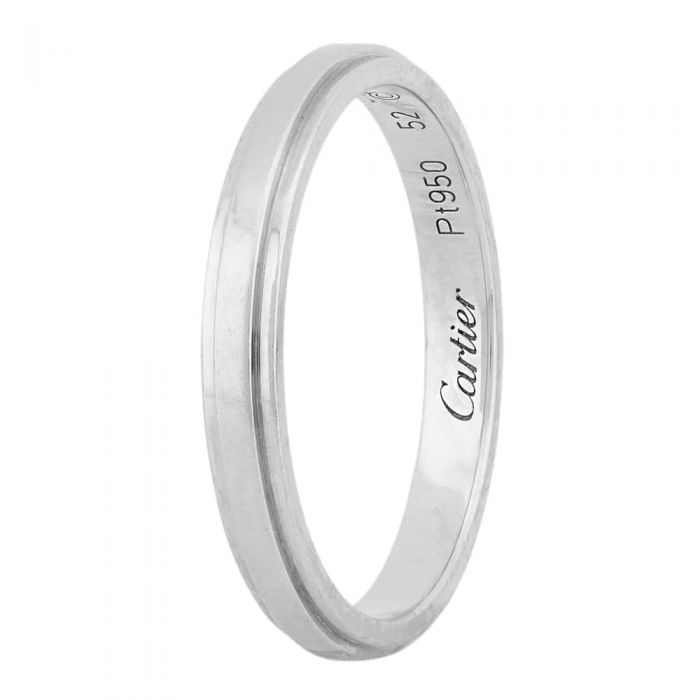 c55678160b27d Second Hand Cartier 2.5mm Wide d'Amour Ring 4187792
