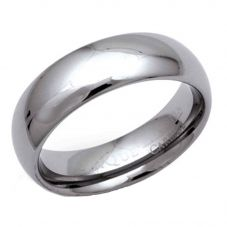 Unique Mens Tungsten Carbide 7mm Polished Ring TUR-22