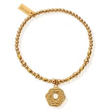 ChloBo Cherabella Gold Plated Sacral Chakra Bracelet GBCC749