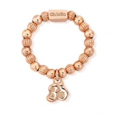 ChloBo Mayas Light Rose Gold Plated OM Ring RRPB4791