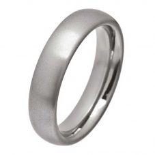 Ti2 Titanium Mens 6mm Polished Oval Ring T.LR1250.G V
