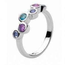 Kit Heath Silver Multi Cascade Ring 10132BAIL018