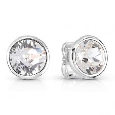 Guess Miami Stainless Steel Stud Earrings UBE83059