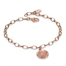 Fiorelli Ladies Rose Gold Plated Quartz Bracelet B4655P