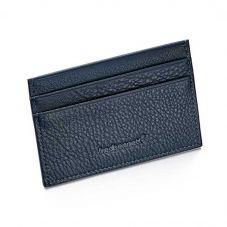 Fred Bennett Mens Dark Blue Leather Cardholder W011