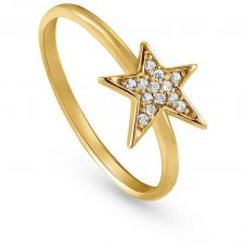 Nomination Stella Gold Plated Single Star Ring 146700/012