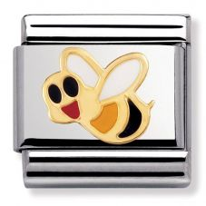 Nomination CLASSIC Gold Animals of the Air Bee Charm 030211/11