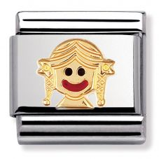 Nomination CLASSIC Gold Daily Life Fun Baby Girl Charm 030209/37