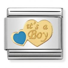 Nomination CLASSIC Gold Daily Life Its A Boy Charm 030242/40