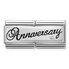 Nomination CLASSIC Silvershine Double Link Anniversary Charm 330730/03