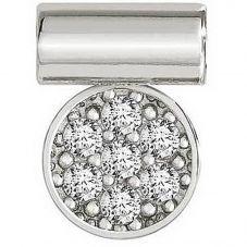 Nomination Seimia Silver Cubic Zirconia Cerchio Charm 147116/016