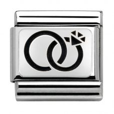 Nomination CLASSIC Silvershine Wedding and Engagement Charm 330102/29