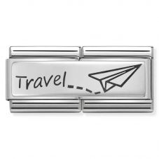 Nomination CLASSIC Silvershine Travel Double Charm 330710/09