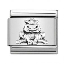 Nomination CLASSIC Silvershine Frog With Crown Charm 330101/36