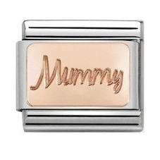 Nomination CLASSIC Rose Gold Plates Mummy Charm 430101/42