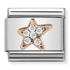 Nomination CLASSIC Rose Gold Asymmetric Star Charm 430302/16
