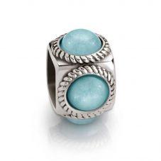 Nomination Cubiamo Jade Light Blue Cube Charm 163303/004