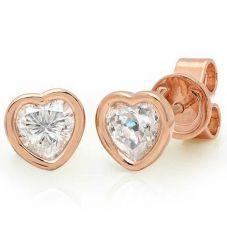 Crislu 'Hearts by Crislu' Small Earrings 8010436E00CZ