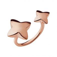 Links of London Splendour Rose Gold Vermeil Double Star Ring 5045.736R