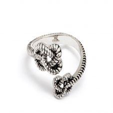 Chrysalis BODHI Silver Adjustable Endless Knot Ring CRRT0510AS