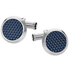Montblanc Meisterstuck Blue Round Cufflinks 112904