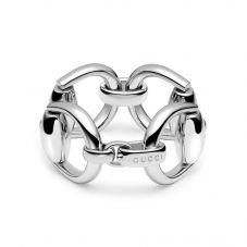 Gucci Horsebit Silver Bangle YBA363941001017