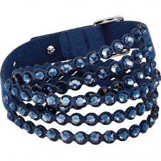 Swarovski Power Blue Crystal Multi Row Bracelet 5511697
