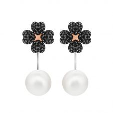 Swarovski Latisha Black Pearl Earrings 5389161