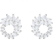 Swarovski Louison Clear Crystal Circle Stud Earrings 5419245