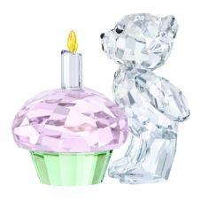 Swarovski Kris Bear Time To Celebrate Figurine 5301570