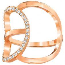 Swarovski Flash Rose Gold Tone Ring