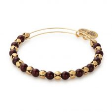 ALEX AND ANI Mulberry Snowbell Beaded Bangle A16EB134RG