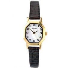 Sekonda Ladies Mother Of Pearl Leather Strap Watch 4416