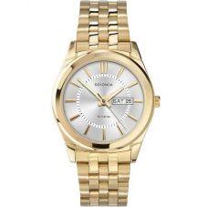 Sekonda Mens Gold Plated Bracelet Watch 3450