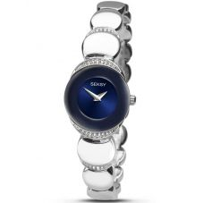 Sekonda Ladies Seksy Sapphire Stone Set Bracelet Watch 2295.37