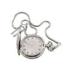 Sekonda Mens White Half Hunter Pocket Watch 3468