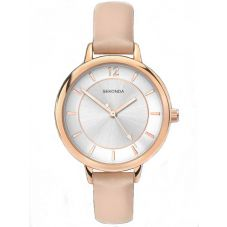 Sekonda Ladies Editions Cream Strap Watch 2137