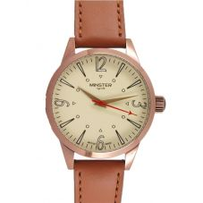 Minster 1949 Mens Crofton Tan Leather Strap Watch MN01CRCU10