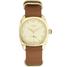 Minster 1949 Mens Burlington Tan Leather Strap Watch MN04GLGL10