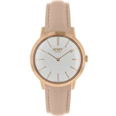 Henry London Ladies Iconic Pink Watch HL34-S-0222