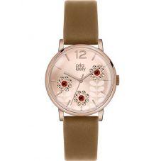 Orla Kiely Betty Rose Gold Plated Strap Watch OK2090