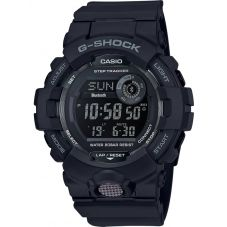 Casio G-Shock G-Squad Digital Black Plastic Strap Smartwatch GBD-800-1BER